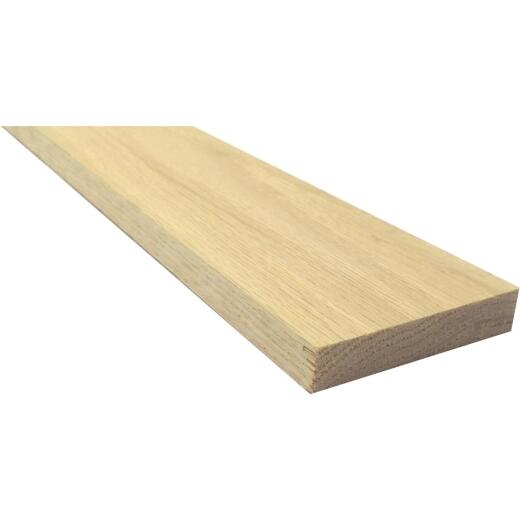 Waddell 1/2 In. x 4 In. x 4 Ft. Red Oak Board