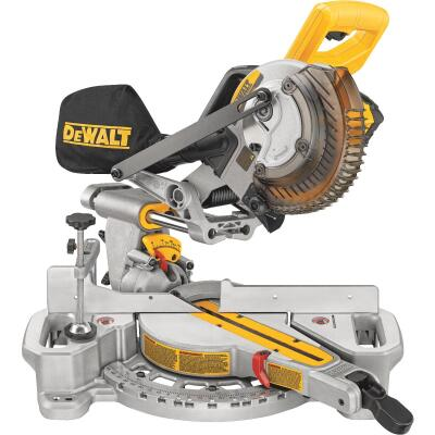 DeWalt 20 Volt MAX Lithium-Ion 7-1/4 In. Sliding Compound Cordless Miter Saw Kit