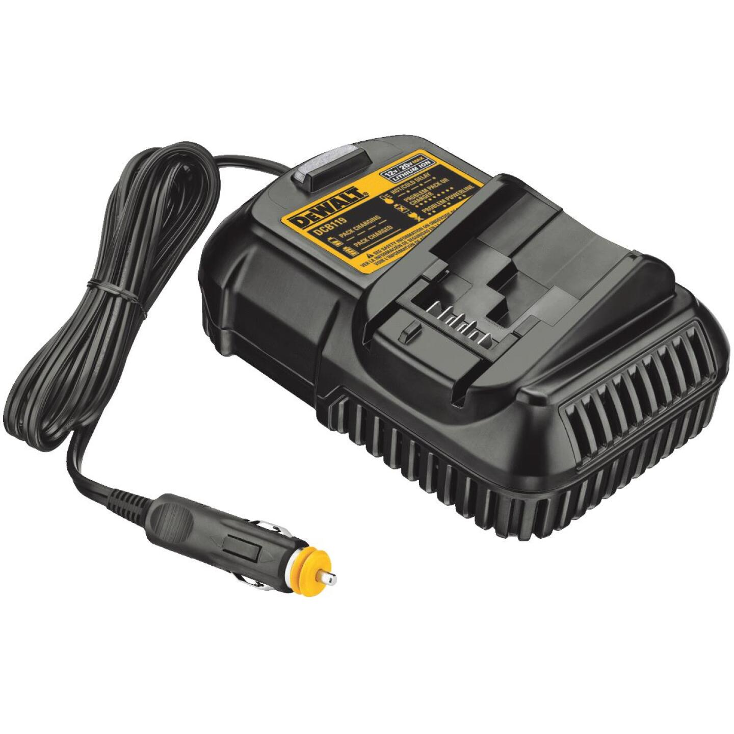 DeWalt 12-Volt/20-Volt MAX Lithium-Ion Vehicle Battery Charger Image 1